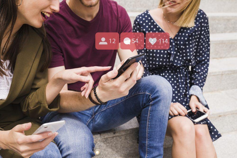 Redes Sociales en móviles
