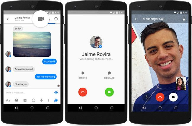 Facebook Messenger incluirá videollamadas