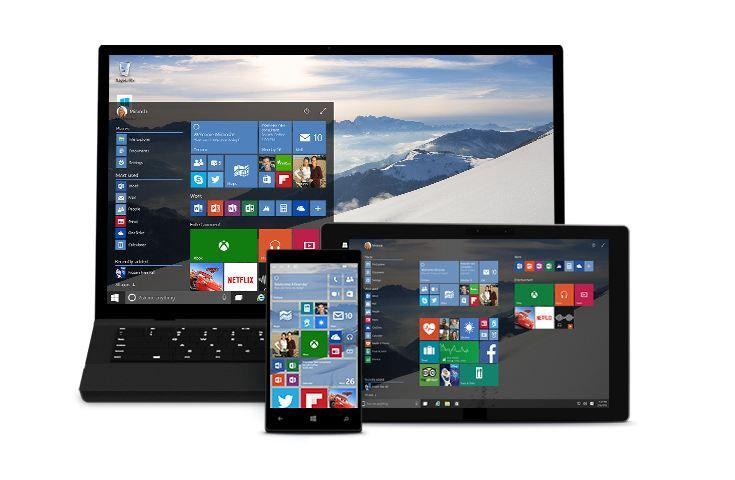 Windows 10 llega con siete versiones diferentes