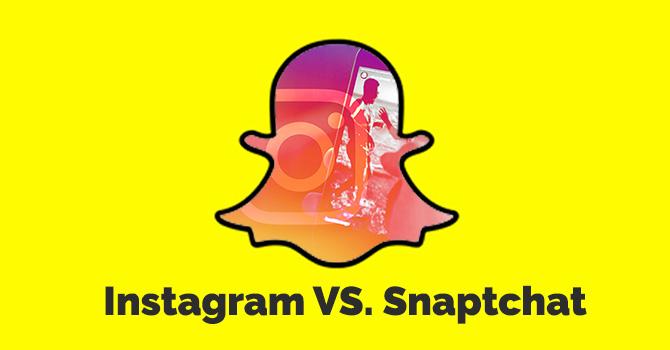 Instagram vs Snaptchat