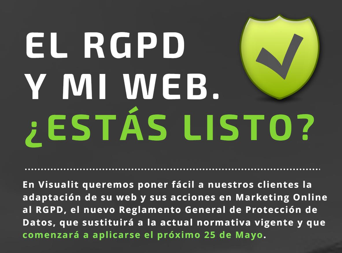 El RGPD y mi Web ¿estás listo?