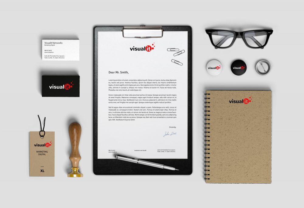 Ejemplo de Mockup de Visualit